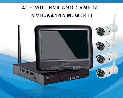 10inch 4ch wireless nvr kit